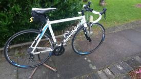 Focus Cayo triple, full carbon frame/forks Medium size Road Bike