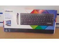 POLAROID SMART KEYBOARD WIRELESS BRAND NEW SEALED WITH RECEIPT