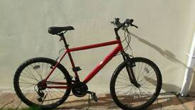 Apollo red mountain bike in mint condtion