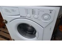 White Hotpoint 5kg Integrated Washing Machine