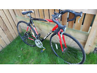 Reflex Men's Tour Road Bike - RED/BLACK, 56 cm