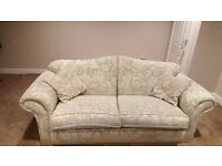 Good condition two piece sofa - collection only
