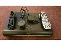 Sky HD box and Wi-Fi dongle