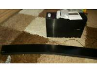 Samsung Curved Sound bar 8.1 with Wireless Subwoofer HW-J7500
