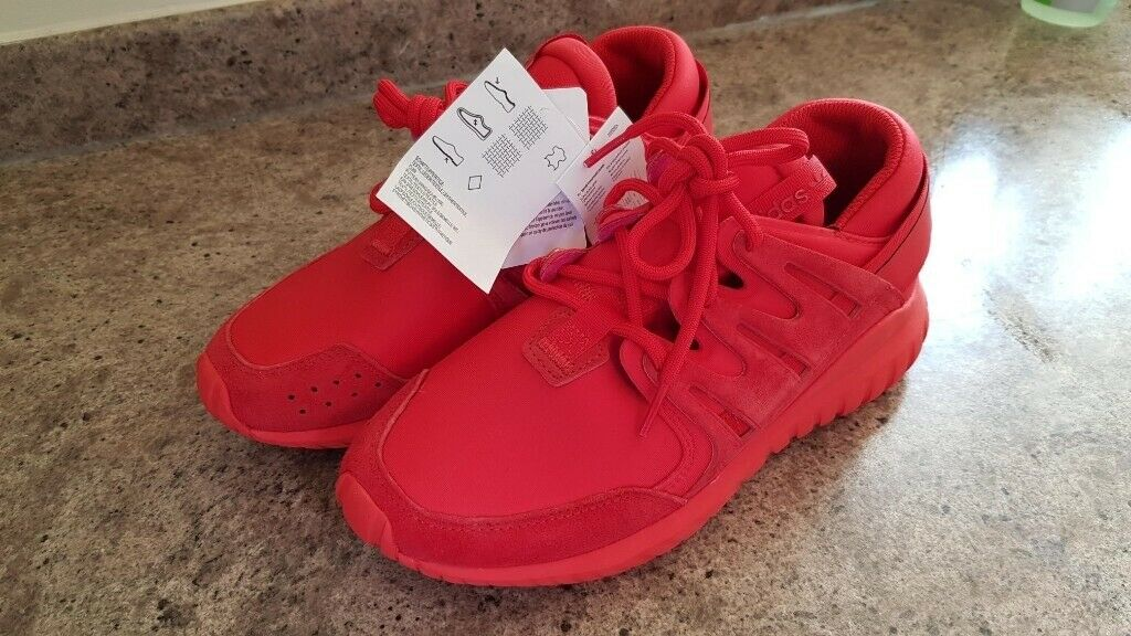 low priced 071fb abe11 Adidas Red Tubular Radial Size 5 Trainers Brand New Running Shoes | in  Melton Mowbray, Leicestershire | Gumtree