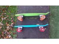 """Two 22"""" Penny Boards"""