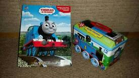Thomas the tank engine book and puzzle