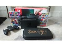 Nintendo Switch Console plus extras
