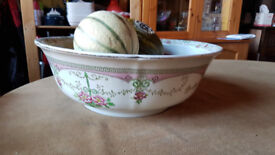ADDERSLEYS LTD LARGE BOWL PAINTED PATTERN