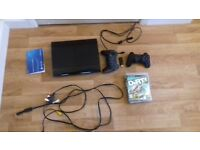 SONY PS3 12GB with 3 games, two controllers