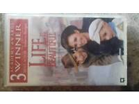 Life is beautiful vhs video