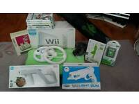 Wii Sport inc games and Wii Fit