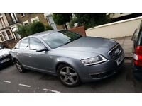 AUDI A6 2007 Saloon Grey Full Leather 2007 £4750