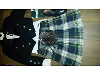 Man kilt for getting married or best man