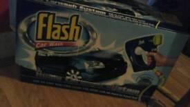 Flash car cleaner..