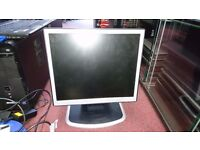 "NEC MultiSync LCD1760NX L172EN 17"" TFT Flatscreen VGA DVI PC Desktop Monitor"