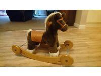 Mamas and papas rocking horse and wheels