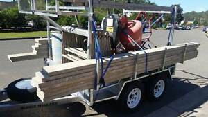 BUILDERS BRICKIES CONCRETERS TRADIES TRAILER 8 X 5 2000KG Kunda Park Maroochydore Area Preview