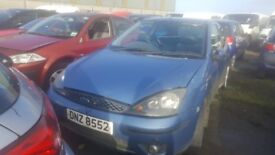 2003 FORD FOCUS CL 1.4 PETROL BREAKING FOR PARTS ONLY POSTAGE AVAILABLE NATIONWIDE