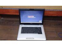 TOSHIBA SATELLITE PRO L500 - INTEL CORE 2 DUO 2GHZ - 4GB RAM - 150GB HDD - WIN 7