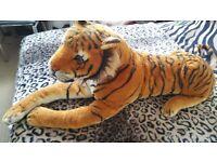 Melissa & Doug Large Tiger Soft Toy