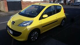 Peugeot 107 URBAN long mot manual 84k full service history with long mot
