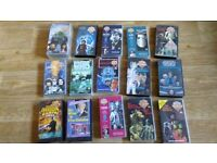 15 x dr who VHS - the crusade / invasion earth / seeds of doom / the five doctors