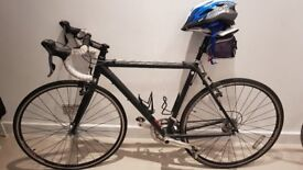 Genesis Vapour road bicycle with shimano cleats 54cm - 6 years old