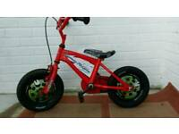 Kids Disney cars lighting mcqueen bike