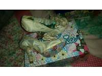 Irregular choice brand new mal-e bows eu40 6.5 7