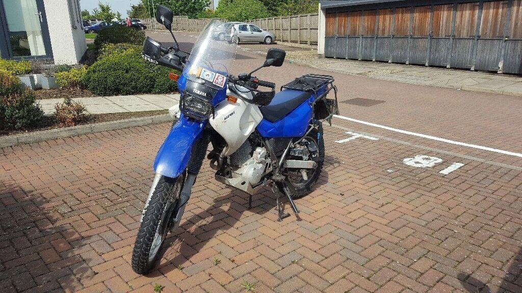 YAMAHA XT600E 2003 - Adventure / Touring Modifications