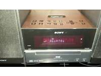 Sony dab radio with cd player and docking station