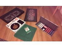 Poker/craps/roulette table set
