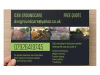 Landscape gardening services. Free quotation given