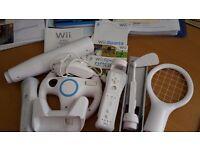 Nintendo Wii Full Sports Package - Great fun!
