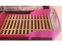 Toddler bed without mattress, collect in Doncaster, 140 X 70 .