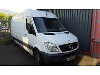 Mercedes Sprinter,LWB 2009 non runner, spares or repairs. Suspected injector fault. No Vat Sussex