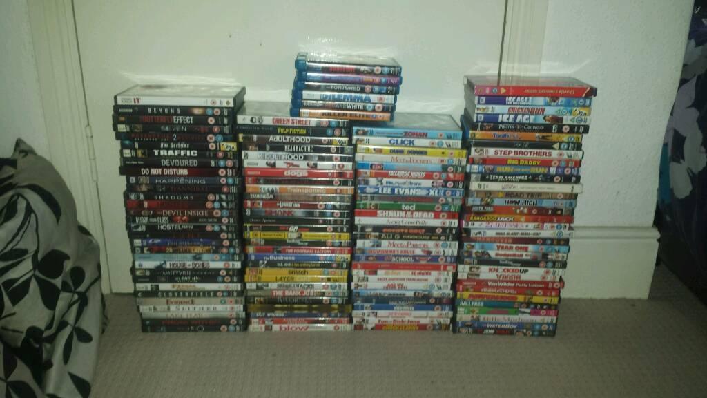 Job Lot Mixed Dvds.