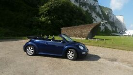 Spares, or repairs. High spec, low mileage Beetle convertible