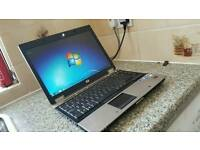 MINT FAST HP 6930P ELITEBOOK LAPTOP MICROSOFT OFFICE 13 WIFI 3GB RAM 160GB DVD SD CARD CAN DELIVER