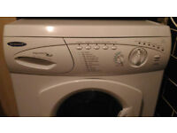 Hotpoint white good looking 6kg 1300spin washing machine