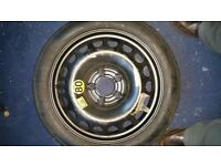Vauxhall Astra spacesaver space saver 16 inch spare wheel