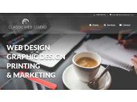 website design. web hosting and printing Service