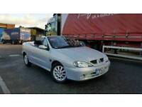 2002 Renault Megane 1.6 Convertible Full Leather Long MOT Coupe Cabriolet Soft Top Convertable 206cc