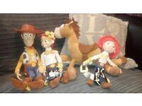 Toy Story - Woody Jessie and bullseye