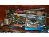 Ammo box tool box and tools