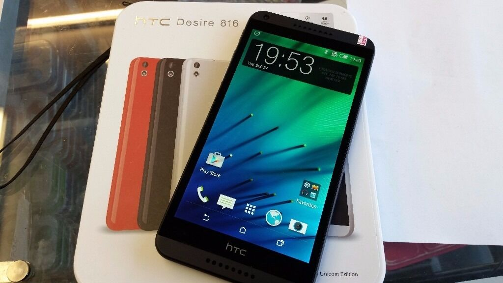 HTC Desire 816, unlockedin Leytonstone, LondonGumtree - HTC Desire 816 Brand New condition fully working unlocked, works on any network with box and charger 5.5 inch screen 13MP CAM 1.5GB RAM All items I sell do come with receipt so you have peace of mind. Im located on Leytonstone High Road in walking...