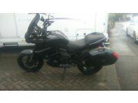 Kawasaki Versys 650cc 2013. Low milege Black