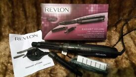 Revlon hair curler boxed with accessories