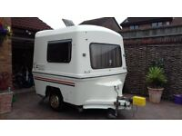 romini vintage lightweight micro caravan 1986